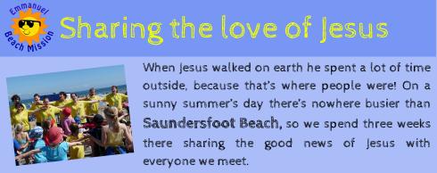 SharingtheloveofJesus